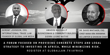 Real Steps to Invest in Africa tickets