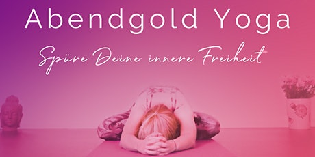 Abendgold Yoga goes digital Tickets