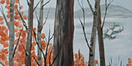 Winter in the Woods Online Acrylic Paint Night tickets