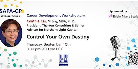 Control Your Own Destiny entradas