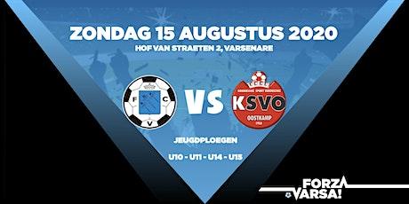 KFC Varsenare - KSV Oostkamp Oefenwedstrijden Jeug tickets