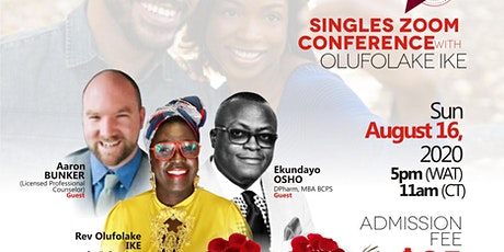 Singles Zoom Conference tickets