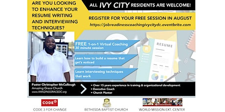 One-on-One  Job Readiness Coaching tickets