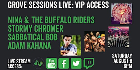 Grove Sessions Live: VIP Access tickets