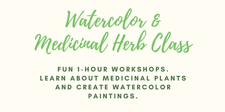 Watercolor & Medicinal Herbs with Megan Jefferson tickets
