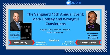 Vanguard 10th Annual Event: Mark Godsey and Wrongful Convictions tickets