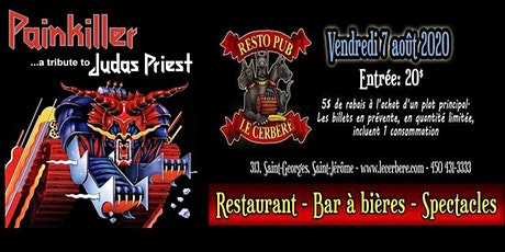 Painkiller - Hommage à Judas Priest au Resto-Pub Le Cerbère tickets