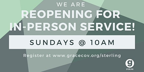 Grace Covenant Church-Sterling Sunday Service tickets