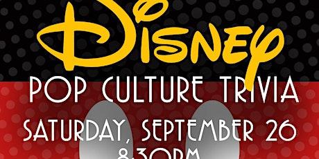Disney Pop Culture Trivia Live-Stream tickets