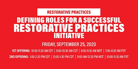 Virtual Workshop: Defining Roles For a Successful RP Initiative tickets