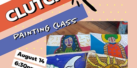 Clutch Painting Class tickets