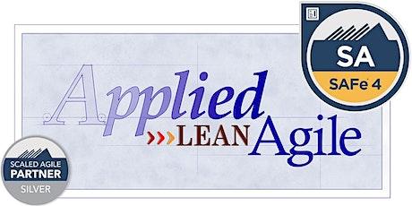 Leading SAFe®  (SA) 5.0 Aug 22-23 [Online] -- By The Lean Agile Guru tickets