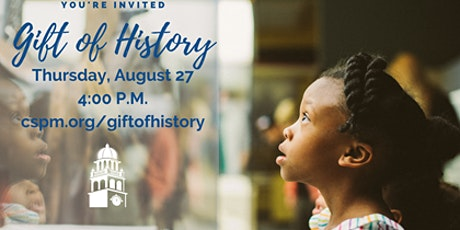 Give the Gift of History _ Online Campaign tickets