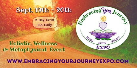 Embracing Your Journey Expo - Marketplace Sept. 19th & 20th 2020 tickets