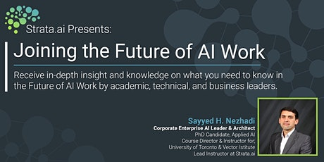 Strata.ai Presents: Joining the Future of AI Work tickets