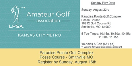 Sunday Play Date: August 23 - Paradise Pointe Posse tickets