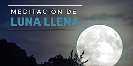 Meditación de Luna Llena especial jóvenes 18 a 32 años Vicente Lopez entradas