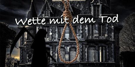 """Schnüffel-Kriminalfall """"Wette mit dem Tod"""" am 30.08.2020 Tickets"""