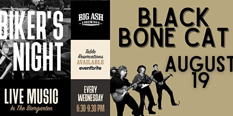 Big Ash Bike Night Featuring Live Music by Black Bone Cat tickets
