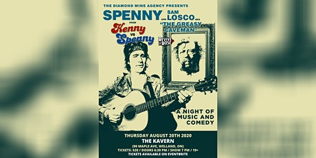 Spenny & Sam Losco LIVE in Welland tickets