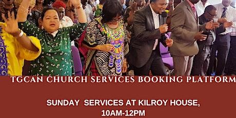 TGCAN Sunday Service Booking Platform: 9 August 2020 tickets