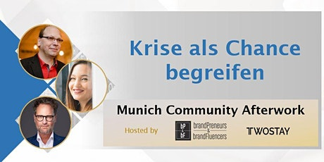 Munich Community Afterwork | Krise als Chance begreifen tickets