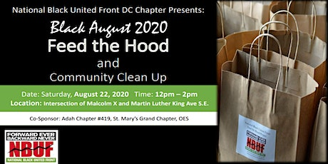 Feed the Hood and Community Clean ~Black August 2020 Edition tickets