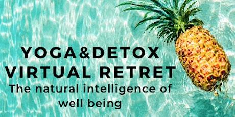 Yoga&Detox virtual retreat tickets