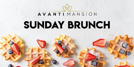 Sunday Brunch at Avanti Mansion - AM tickets