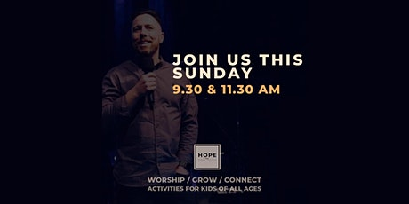 HOPE Service / 9th August / 9.30am tickets