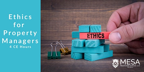 Ethics for Property Managers *LIVE ONLINE* tickets