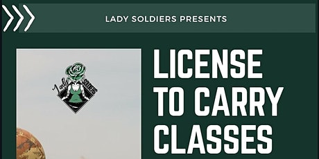 LTC Firearm Class -  Lady Soldiers tickets