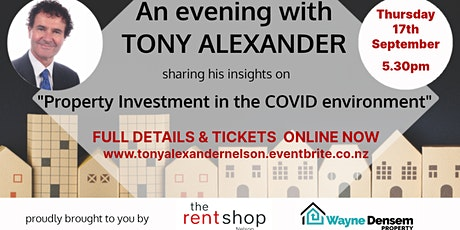 An Evening with Tony Alexander tickets