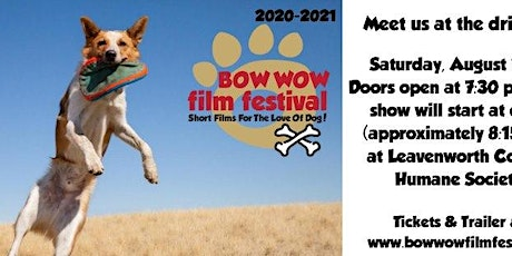 Bow Wow Film Festival (Drive-in movie!!) tickets