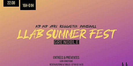 LLAB Summer Fest billets