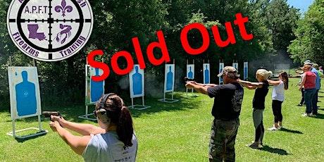 Saturday Aug 15th- Louisiana Concealed Handgun Permit course tickets