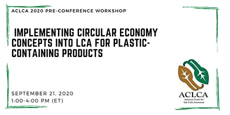 Implementing Circular Economy Concepts into LCA : Products with Plastic tickets