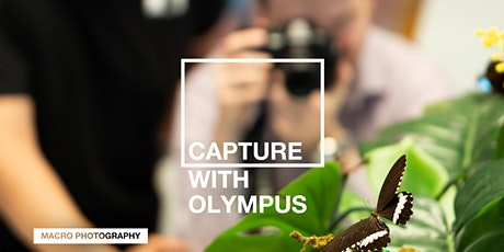 Capture with Olympus: Macro (Live Stream) tickets