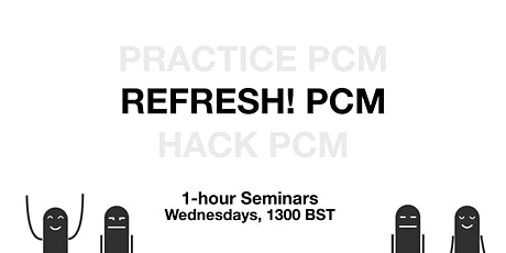 REFRESH! Process Communication Model, Trainees only | 1-hour Seminar tickets