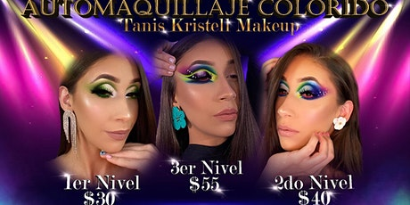 Online Makeup Class- COLORFUL WORKSHOP  (Segundo N entradas