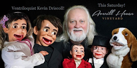 Ventriloquist and Berklee Music Center Graduate Kevin Driscoll and Wine tickets
