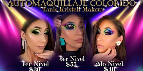 Online Makeup Class- COLORFUL WORKSHOP  (Tercer Ni entradas