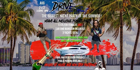 Who Tha Label  & Hoodie Gang  Yacht Party tickets