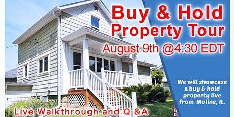 Online Buy & Hold Property Deal Tour - IL tickets