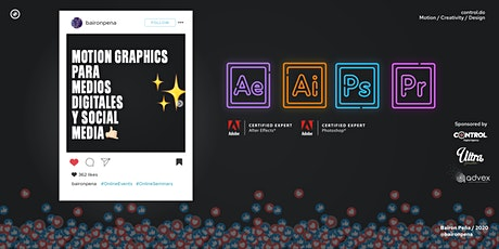 Motion Graphics  para medios digitales y Social Media boletos