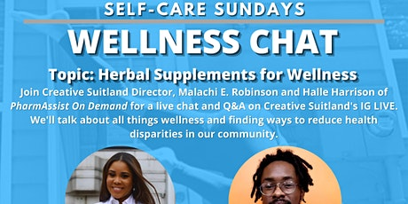 Self-Care Sundays: WELLNESS CHAT tickets