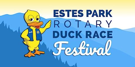 Estes Park Rotary Duck Race Festival tickets