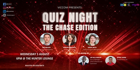 VicCom Presents Quiz Night: The Chase Edition tickets