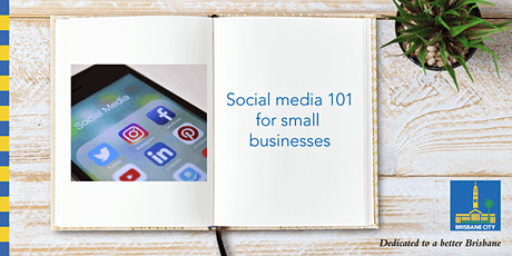 Live stream: Social media 101 for small businesses tickets