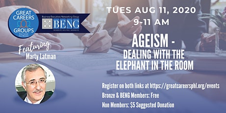 Ageism - Dealing with the Elephant in the Room with Marty Latman tickets